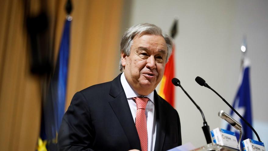 El jefe de la ONU pide que se permitan las protestas pacíficas en Colombia
