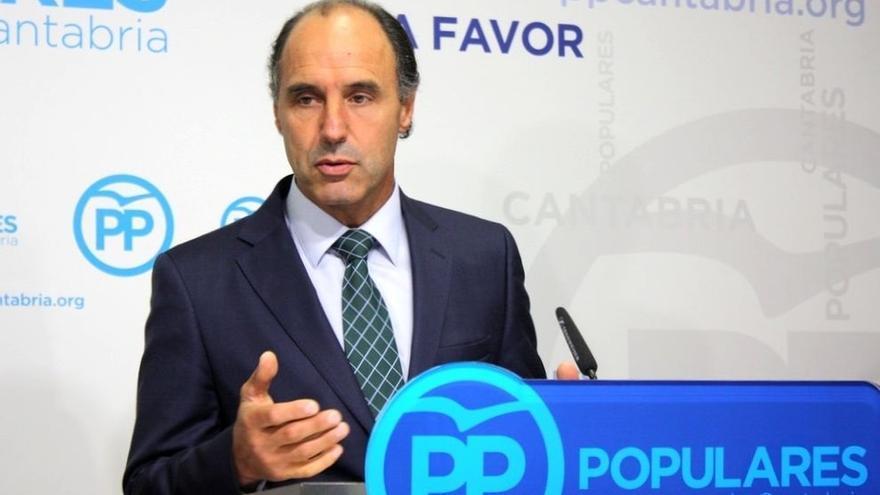 """Diego: """"Queremos saber quién manda en el Gobierno de Cantabria"""""""