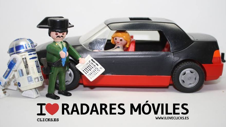 I love radares móviles