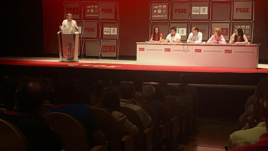 El PSOE de Huelva elige por aclamación a los 33 delegados para el Congreso Regional