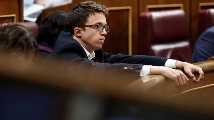 Errejón vuelve al Congreso con voluntad de favorecer un gobierno progresista