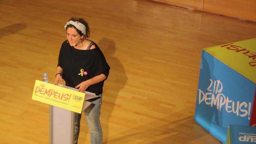 """La CUP pide que """"ni un solo voto feminista"""" vaya a Cs"""