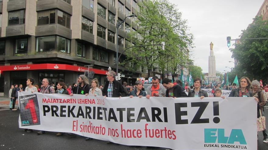 """ELA defiende el """"conflicto social"""" para lograr """"políticas que recorten las desigualdades"""""""