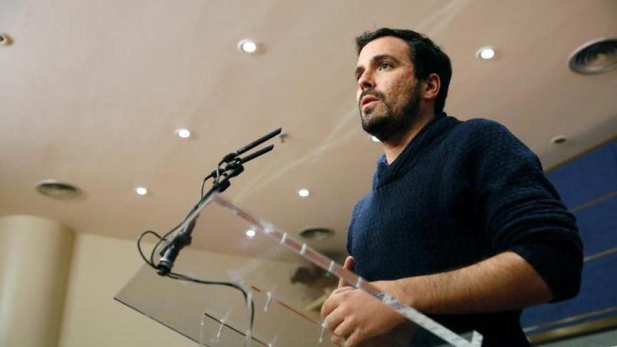 Alberto Garzón presenta nuestra iniciativa para la protección de la libertad de expresión