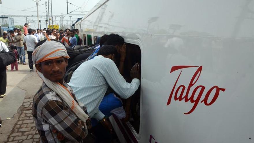 Talgo inicia la pruebas para demostrar la velocidad de sus trenes en India