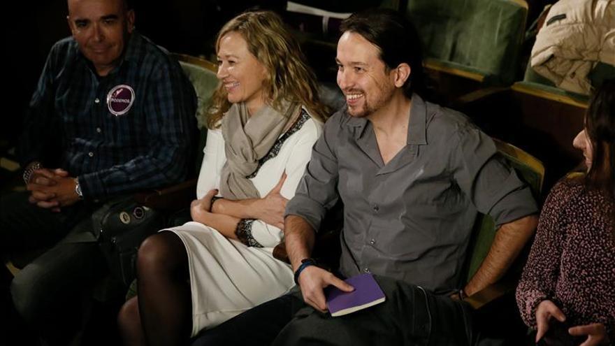 """Pablo Iglesias afirma que en las listas de Podemos """"no hay políticos profesionales"""""""
