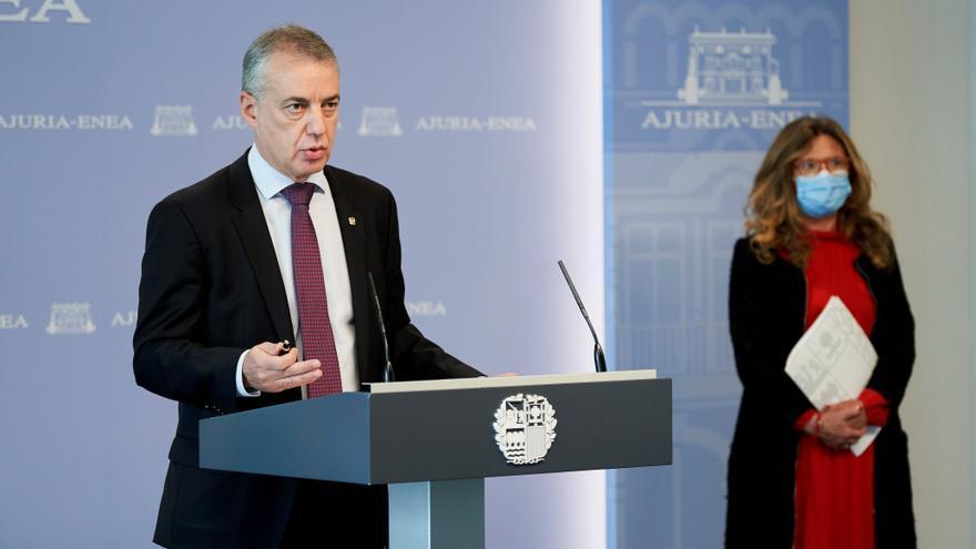"""Euskadi decidirá el lunes a primera hora las """"nuevas medidas"""" y se felicita de que el estado de alarma le dé """"margen"""" para actuar con """"premura"""""""
