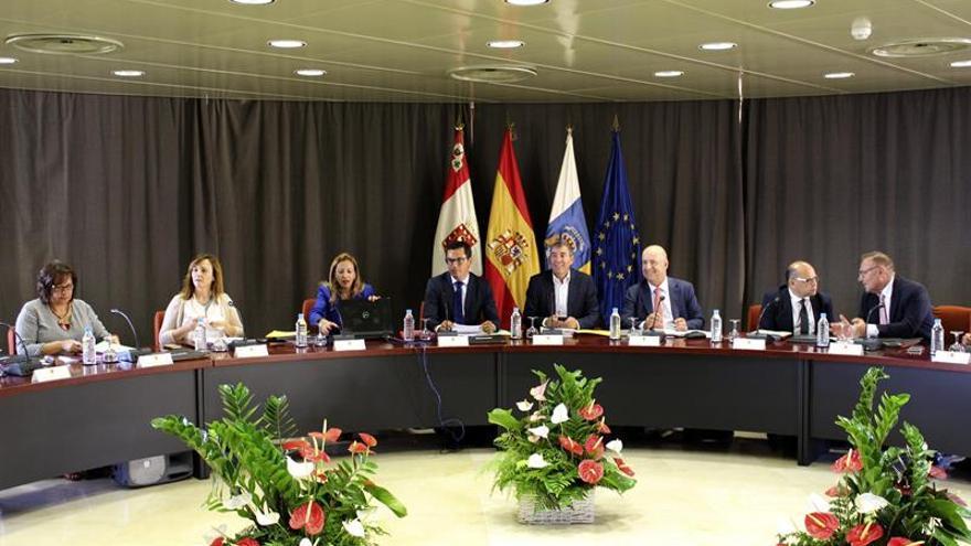 Consejo del Gobierno de Canarias celebrado en La Gomera