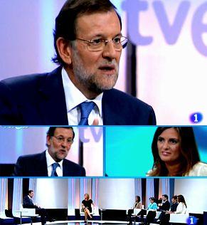 """La entrevista a Rajoy en TVE: entre la crítica, el humor y el dubitativo """"eeehhh"""" del Presidente"""