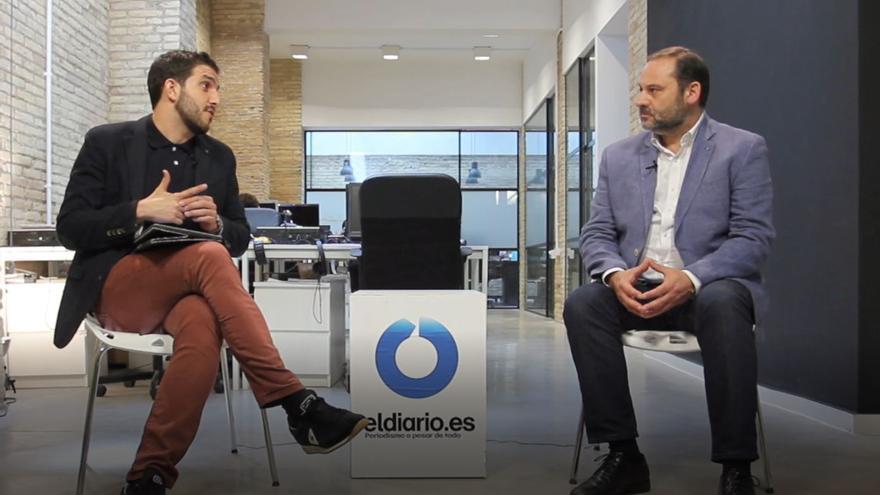 Sergi Pitarch entrevista al secretario de Organización del PSOE, José Luis Ábalos