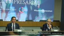 """Los empresarios cierran su cumbre con el anuncio de una """"nueva CEOE"""": piden más flexibilidad laboral y rebajas de impuestos"""