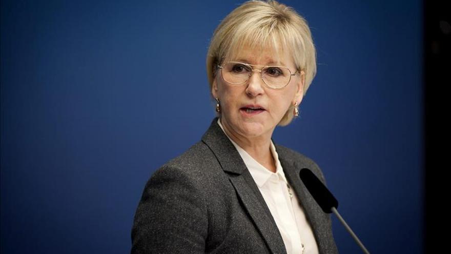 Israel critica las palabras de la ministra sueca sobre la reacción israelí a los ataques