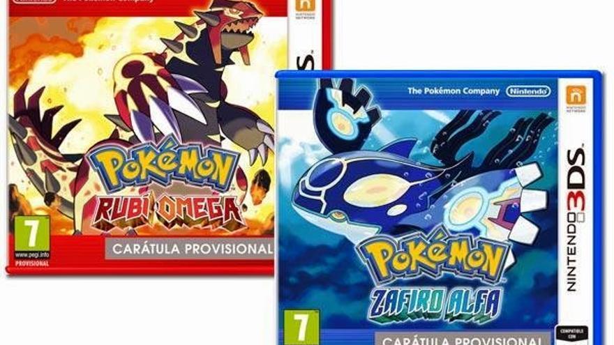 Pokémon Rubí Omega y Zafiro Alfa