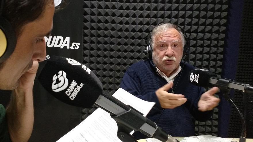 Luis Rodríguez Azpiolea, guionista del documental sobre le fin de ETA