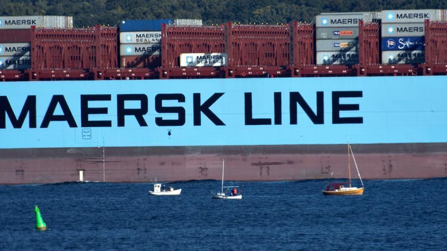 A.P. Møller-Mærsk logra un beneficio récord de 2.259 millones euros hasta marzo