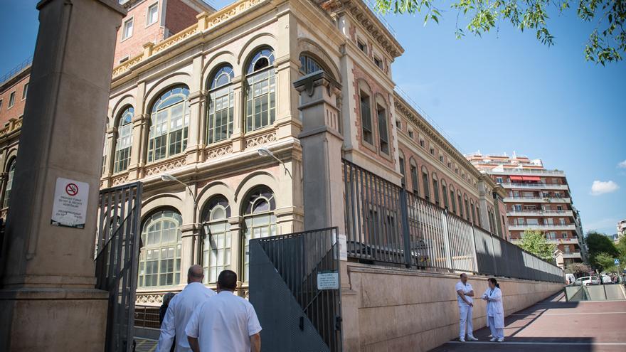 El edificio del Hospital Clínic de Barcelona