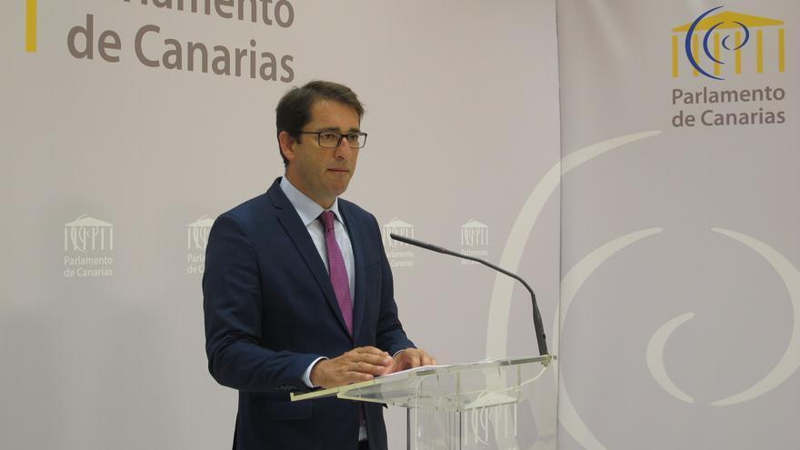 El portavoz del Grupo Parlamentario Socialista Canario, Ignacio Álvaro Lavandera (Canarias Ahora)