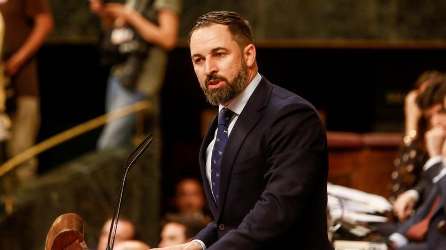"""Vox rechaza su apoyo a un Gobierno del PSOE con respaldo de """"golpistas, comunistas y chavistas"""""""