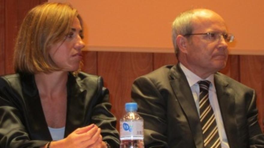 Carme Chacón Y José Montilla