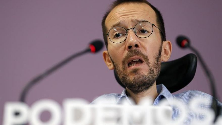 Echenique espera superar en votos y escaños al PP y dice que su aliado es el PSOE