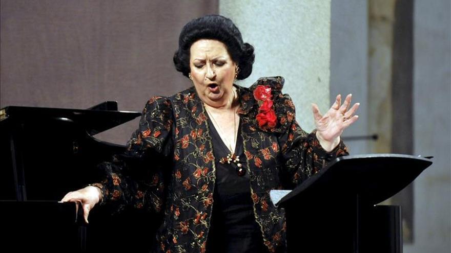 Montserrat Caballé, entre los premios Ópera Actual 2014