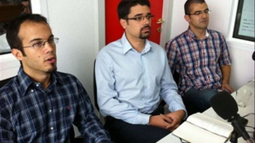 Los tres fundadores de Wantudu, en CANARIAS AHORA RADIO.