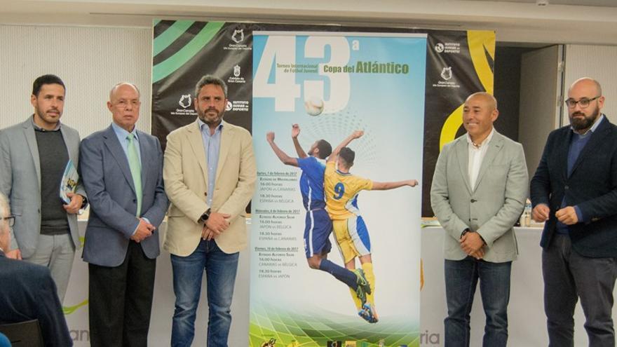 Presentación de la 43 edición de Copa del Atlántico