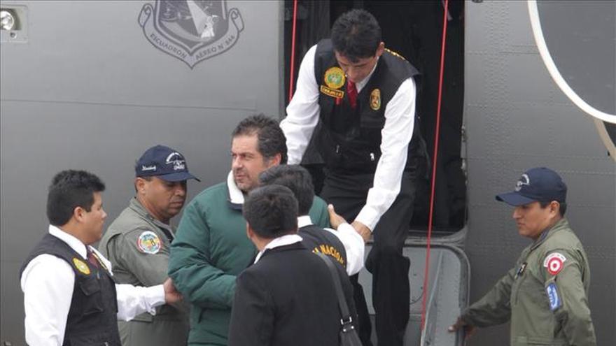 Exasesor de Humala encarcelado solicita a jueza el cese de prisión preventiva