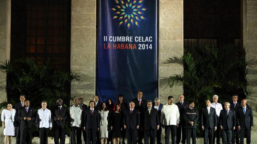 """La Habana se convierte en la capital de Latinoamérica con una cumbre """"histórica"""""""