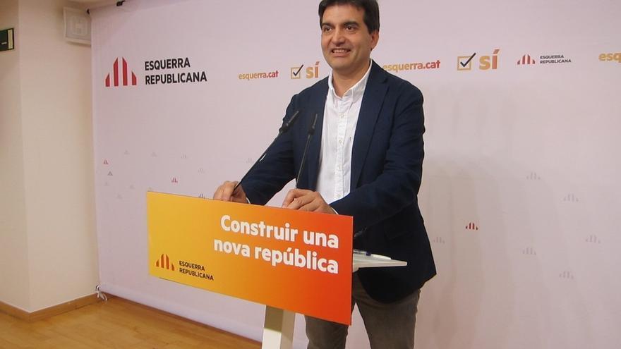 """ERC aboga por """"constituir"""" ya una república sin cerrar la puerta al diálogo"""