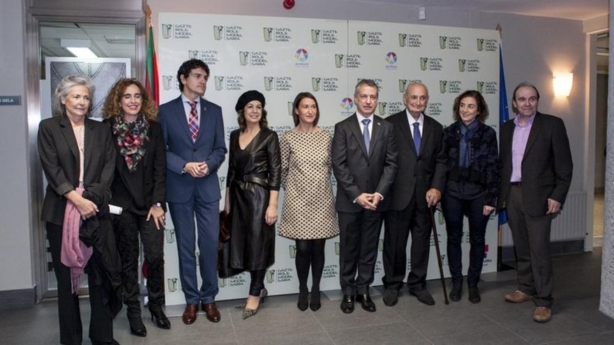 Urkullu preside la entrega del VII Premio Gazte Role Model que concede la ikastola Begoñazpi de Bilbao