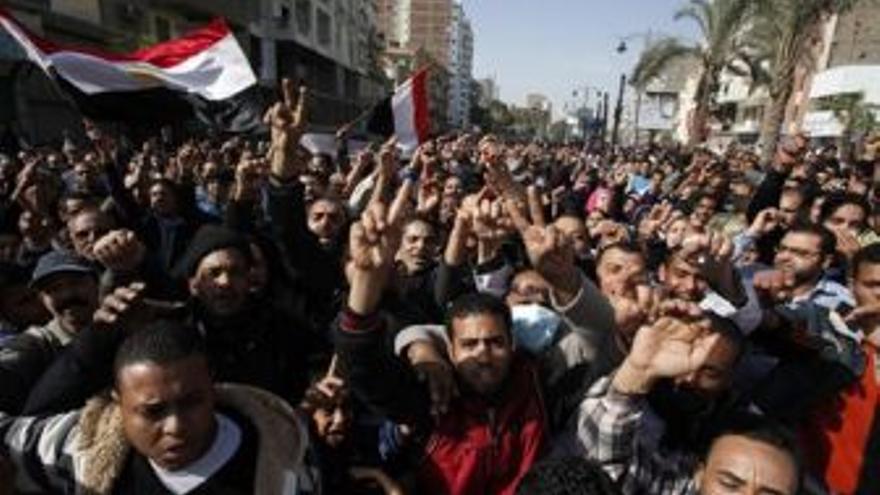 Protestas en Egipto. (EUROPA PRESS)