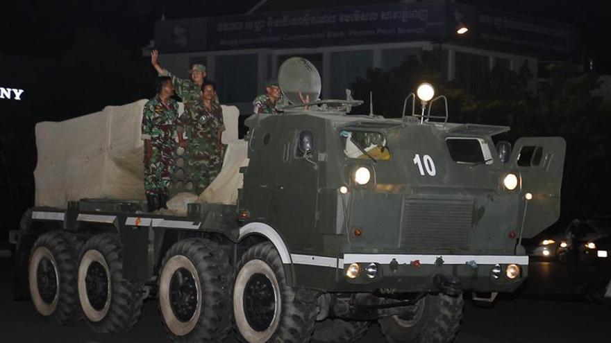 Camboya y Laos acuerdan la retirada de tropas fronterizas tras las tensiones