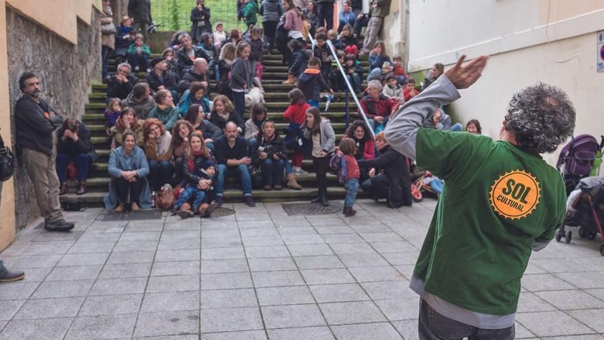 Imagen de una de las actividades celebradas el año pasado por Sol Cultural.   Javier Vila