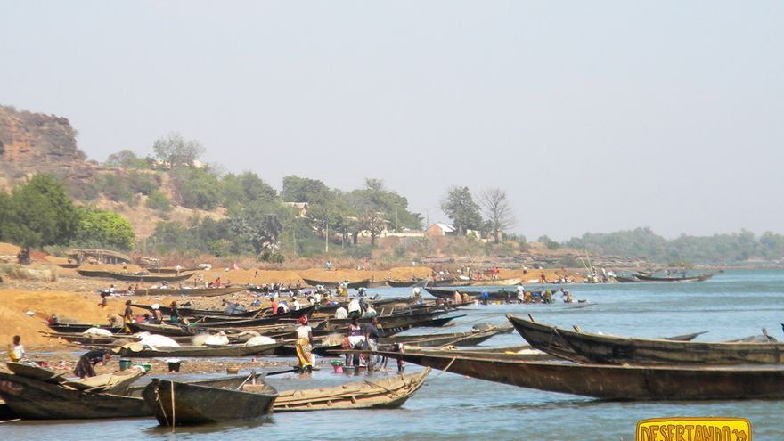 Con una longitud de 4.200 kilómetros, el Níger es el tercer río más largo de África.