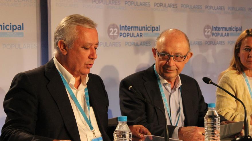 Montoro ha sacado pecho en Murcia sobre su gestión al frente de Hacienda / PSS