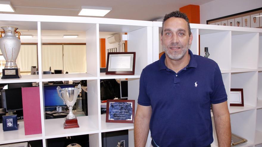 Francis Díaz, entrenador de la UDG Tenerife.