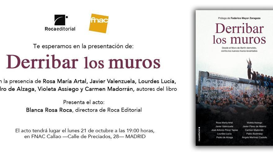 Presentación del libro 'Derribar los muros' en Madrid