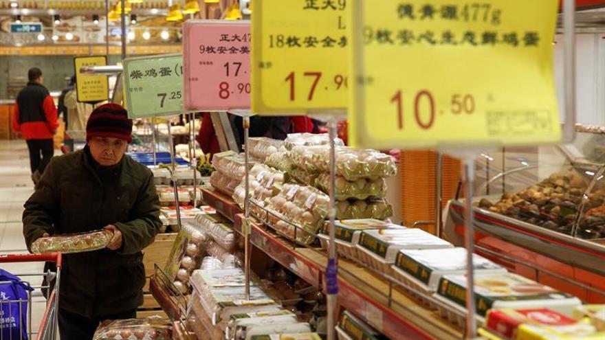 La inflación china crece un 0,9 % interanual en marzo