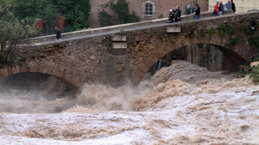 Inundaciones en Francia por las lluvias