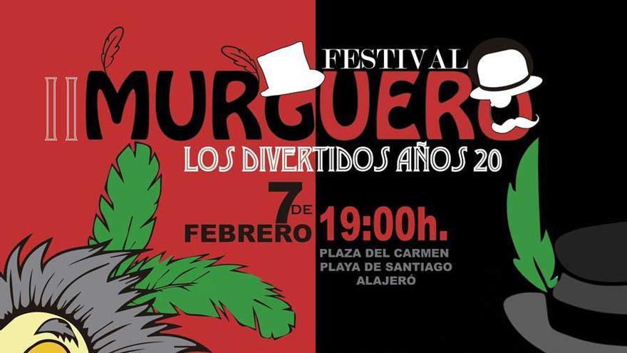 Cartel del II Festival Murgero de Alajeró