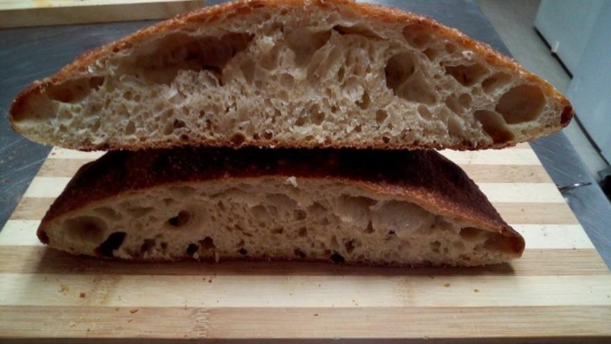 Pan de cerveza con masa madre