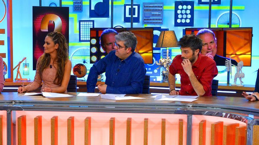 Los presentadores de Dani&Flo en  Cuatro