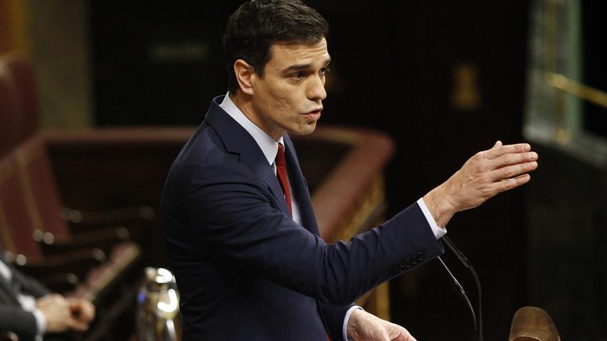 """Sánchez renuncia a su segundo turno porque no había """"nada que replicar"""" a las """"descalificaciones"""" de Rajoy"""