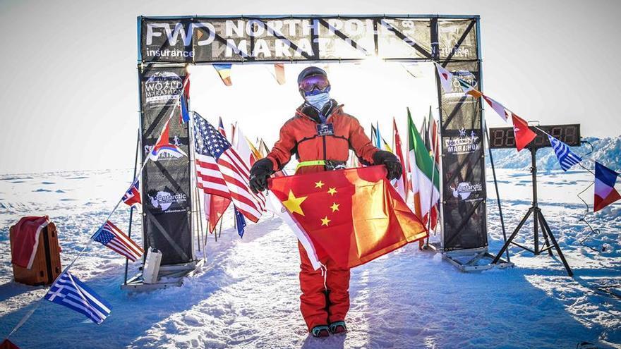 North Pole Marathon.
