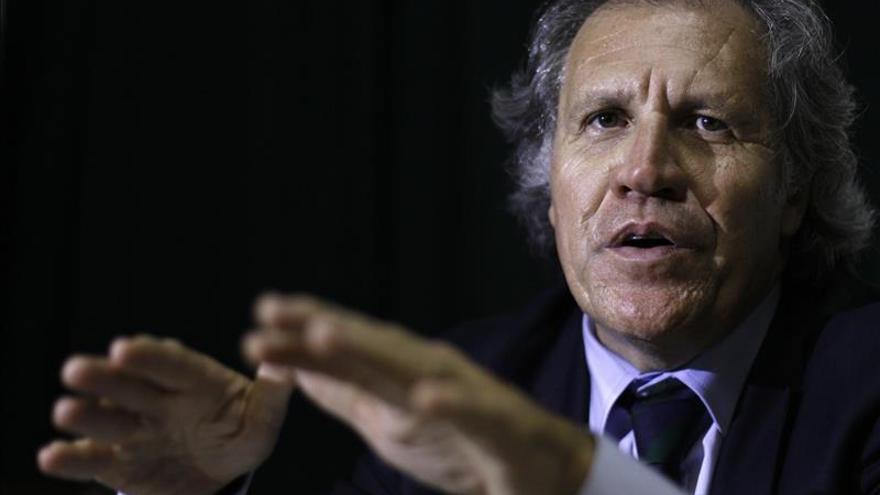 """Almagro prevé un """"futuro de paz"""" en Venezuela tras el triunfo opositor en los comicios"""
