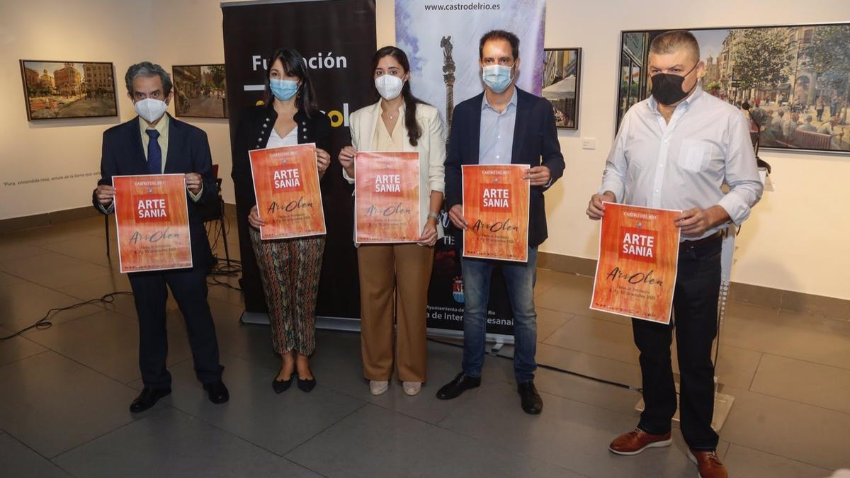 Presentación de 'Ars Olea' en la sede de la Fundación Cajasol