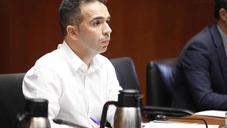 Jesús Guerrero es uno de los dos concejales del PAR en el Ayuntamiento de Monzón (Huesca)
