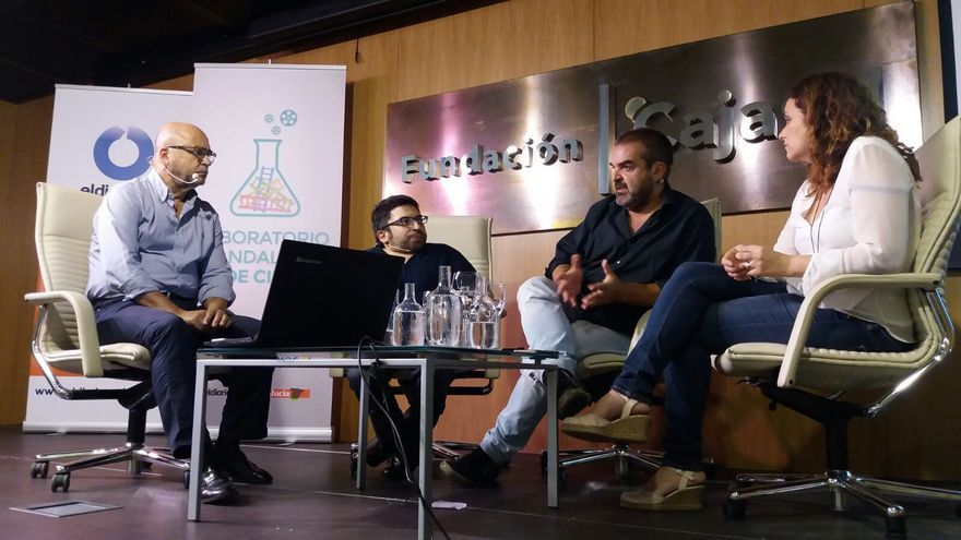 Carlos Rosado, Juan Antonio Bermúdez, Gervasio Iglesias y Marta Velasco