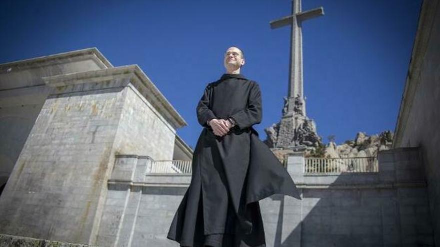 Santiago Cantera, el polémico prior de los benedictinos del Valle de los Caídos.